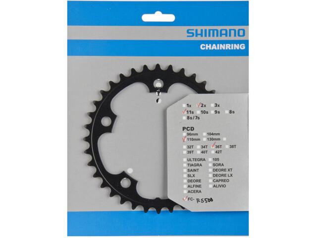 Shimano FC-RS500 Chainring 11-fold black
